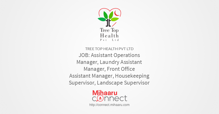 Assistant Operations Manager, Laundry Assistant Manager, Front ...
