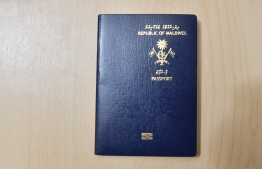 Passport of Maldives. It was listed as the most powerful passport in the South Asian region for the year 2020. PHOTO: MIHAARU