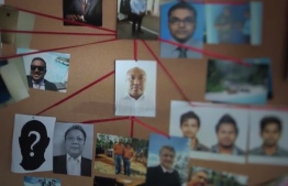 A screengrab from 'Stealing Paradise' an investigative piece by Al-Jazeera on the graft of Maldives Marketing and Pubic Relations Corporation. PHOTO: STEALING PARADISE / AL-JAZEERA