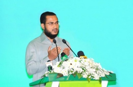 Sheikh Ilyas Hussain. PHOTO: MIHAARU