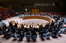The United Nations Security Council.AP
