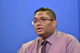 Former Attorney General Mohamed Anil. PHOTO: NISHAN ALI/ MIHAARU