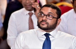 Newly elected PPM Vice President Ghassan Maumoon. Ghassan is the son of former President Maumoon Abdul Gayoom who served as former president of PPM, and is nephew to ex-President Abdulla Yameen Abdul Gayoom. PHOTO: NISHAN ALI / MIHAARU