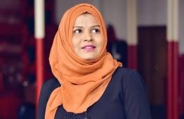 Waleedha Waleed. PHOTO: MIHAARU