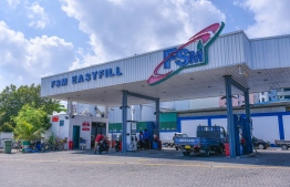 Fuel Supplies Maldives (FSM) petrol shed in Male City.
