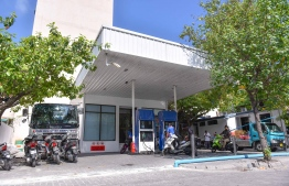 A fuel shed managed by Fuel Supplies Maldives in Male' City. PHOTO: HUSSAIN WAHEED / MIHAARU