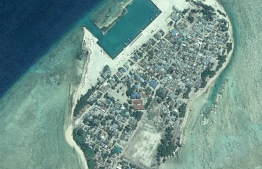 Aerial view of Thimarafushi, Thaa Atoll. PHOTO: DEPARTMENT OF NATIONAL PLANNING