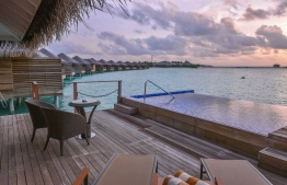 Cocoon Maldives resort in Lhaviyani Atoll. PHOTO: HUSSAIN WAHEED / MIHAARU
