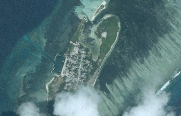The Island of Kanduhulhudhoo, Gaafu Atoll.
