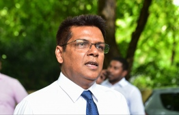 People's Majilis protests against Maseeh - MP Reeko Moosa