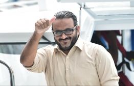 Former Vice President Ahmed Adheeb summoned to Criminal Court. PHOTO: HUSSAIN WAHEED/MIHAARU
