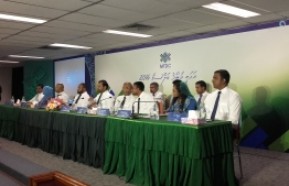 MTDC's board of directors during their annual meeting in 2016. FILE PHOTO/MIHAARU