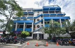 Maldives Ports Limited head office in Male' City. FILE PHOTO / MIHAARU