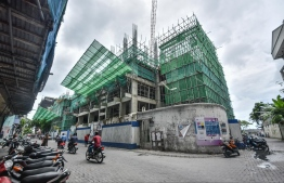 Nasandhra Palace Hotel construction site. PHOTO: MIHAARU
