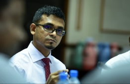 Minister of Finance and Treasury, Ahmed Munawar. PHOTO: NISHAN ALI/MIHAARU