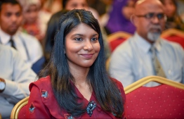 Former gender minister, and co-founder of ARC, Zenysha Shaheed Zaki. PHOTO/MIHAARU