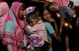 Hundreds of thousands of Rohingya are living in refugee camps in Bangladesh