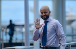 Dhiggaru constituency lawmaker and son of former president Gayoom, Faris Maumoon.