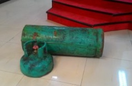 The drugs were hidden inside a gas cylinder on-board the vessel. PHOTO/MIHAARU