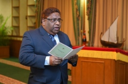 Supreme Court Judge Ali Hameed. FILE PHOTO/PRESIDENT'S OFFICE