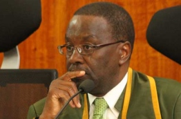Kenya's former chief Justice Willy Mutunga