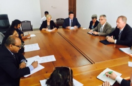 EU jointly with eight countries delivered a demarche on Monday to the Maldives High Commissioner in Sri Lanka calling on the government to continue to apply the de facto moratorium on executions. PHOTO/EU