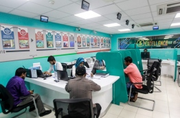 People pictured at MIRA's service counters. MIHAARU FILE PHOTO/NISHAN ALI