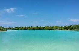 The protected island of Dhigulaabadhoo in Gaafu Dhaalu atoll.