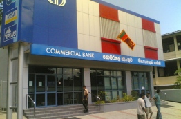 A commercial bank branch in Sri Lanka. The bank is set to open a branch in the Maldives.