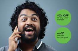 Ooredoo introduced two new add-os, Rate Cutter and Free Minutes, to provide more free call minutes and lower call rates. PHOTO/OOREDOO MALDIVES