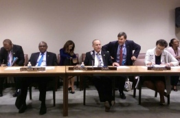 The Commonwealth Ministerial Action Group (CMAG) meeting in New York on Friday.