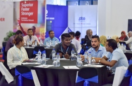 Participants at BML Guesthouses Maldives Conference where Allied Insurance launched their new guesthouse insurance scheme. PHOTO: NISHAN ALI/MIHAARU