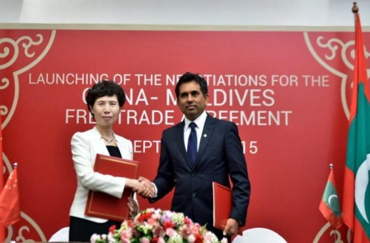 Maldives China To Sign Free Trade Deal In Early 2017 The Edition