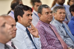 Maldives' economic minister Mohamed Saeed. MIHAARU FILE PHOTO