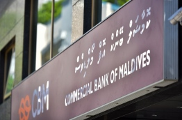 Commercial Bank of Maldives (CBM) which opened September 26, 2016 with a capital of MVR 150 million. PHOTO: NISHAN ALI/MIHAARU