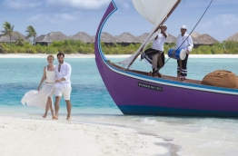 "Promotional poster for Maldives tourism used in the ""Visit Maldives Year 2016"" tourism promotion campaign. PHOTO/VISIT MALDIVES"