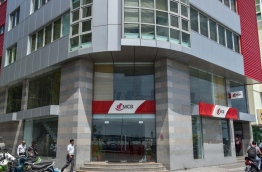 The Mauritius Commercial Bank (MCB) branch in the capital Male. MIHAARU FILE PHOTO/NISHAN ALI