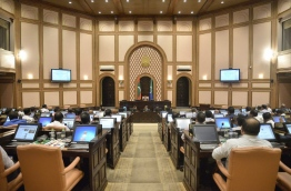 Lawmakers pictured during a parliament sitting. PHOTO/PARLIAMENT SECRETARIAT