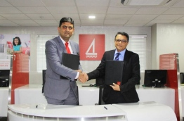 BML signed an agreement with Centurion PLC, a leading shipping and logistics service provider Thursday to act as its collecting banker during the IPO. PHOTO/BML