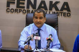 Mohamed Nimal, former managing director of Fenaka Corporation, was appointed deputy tourism minister. FILE PHOTO: MOHAMED SHARUHAAN/MIHAARU