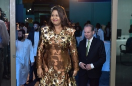 Maldives Monetary Authority's governor Dr Azeema Adam. FILE PHOTO: NISHAN ALI/MIHAARU