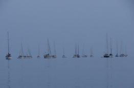 Yachts docked at HA.Uligan.
