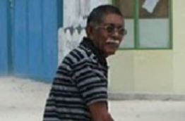 Hussain Mohamed Manik who was found murdered in the island of Hoarafushi in Haa Alif atoll in 2010.