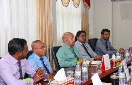 Members of the Election Commission. PHOTO/MIHAARU