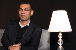 Former President of the Maldives Mohamed Nasheed poses during the 2017 Sundance Film Festival in Park City, Utah, January 20, 2017. VALERIE MACON / AFP