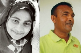 Gasim Shahid (R), 50, and his wife Razeena Ibrahim, 40, were discovered dead in their room in early January 2017.
