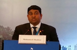 Minister Shainee giving remarks PHOTO:Fisheries Ministry