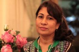 Dr Mariyam Shakeela. PHOTO/FACEBOOK