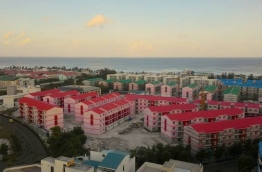 some flats built in Hulhumale :10 flats from these is sold to IGMH staffs