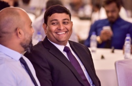 Minister of Fisheries and Agriculture Mohamed Shainee. PHOTO: Mihaaru